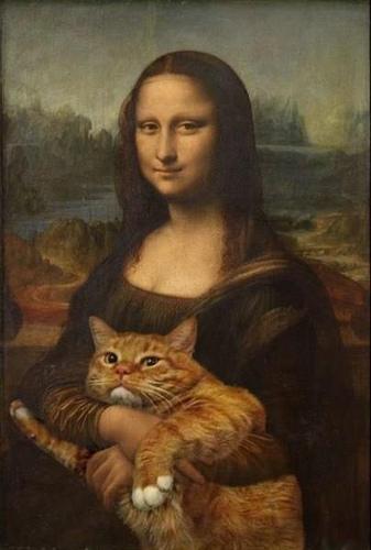 Mona Lisa photo