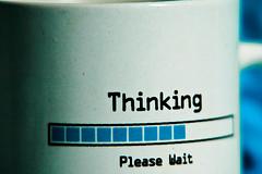 thinking photo