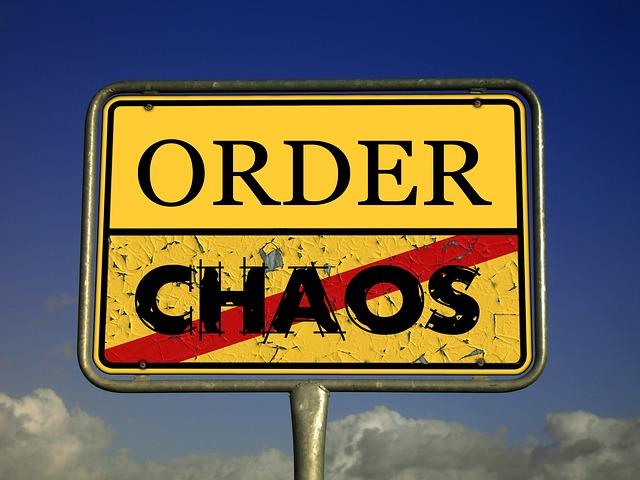 chaos photo